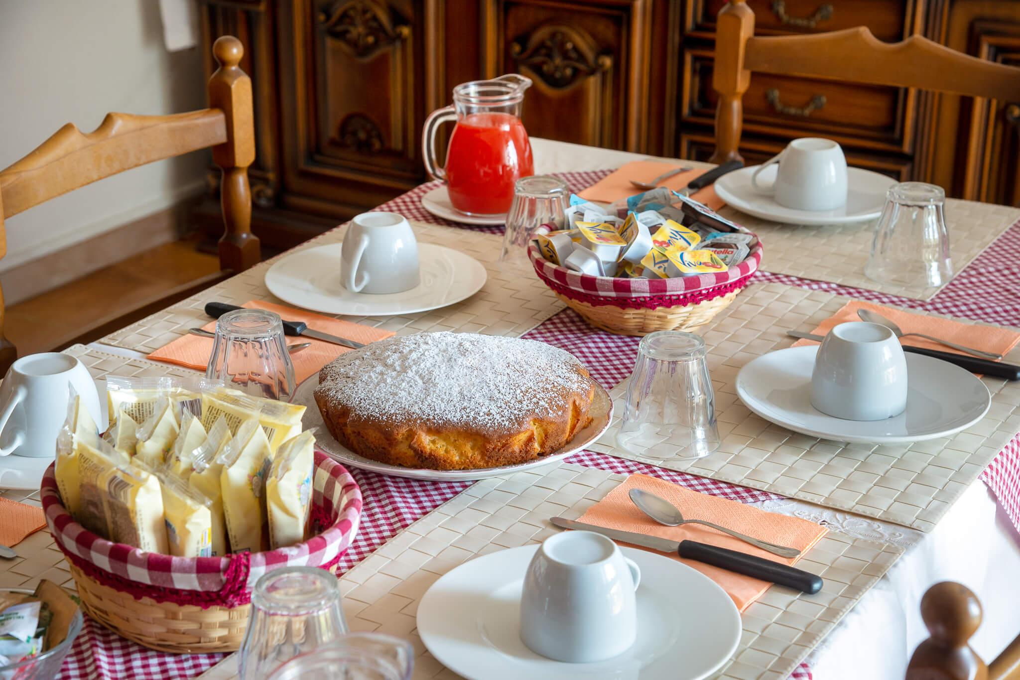 La colazione alla gradina di Osimo